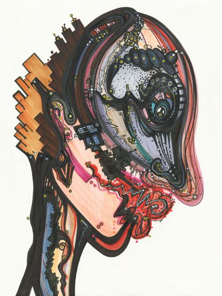 illustration, art, artist, abstract, face