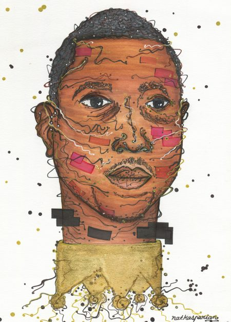 kalief browder, art, illustration, black lives matter